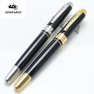 JINHAO 250 Business 17 colors Choose Medium Nib Iridium Point Fountain Pen New Office School Writing Supplies