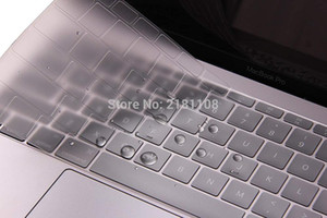 2020 TPU Transparent Clear Keyboard Cover Skin Sticker for New with Touch Bar US Version A2179 EU US Japan Versio
