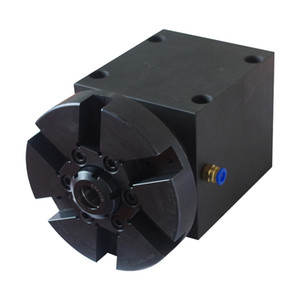Single-axis direct connection fly knife power head brass material gear transmission coupling connection center height 65MM black
