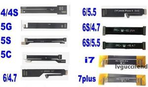 10 Лоты = 100шт Новый сенсорный ЖК-экран дисплея тестер Тестирование Extended Flex кабель для iPhone 4 4S 5 5C 5S 6 6 6S 6S 7 Plus