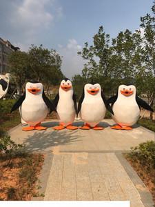 Usine Penguins en vente directe de Madagascar Penguin costume de mascotte Déguisements taille adulte