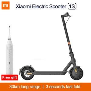 2020 Yeni Xiaomi Mi Elektrikli Scooter 1 S Akıllı Katlanabilir Scooter Kaykay 250 W Motor 20km Rang Mini Patinete Kaykay