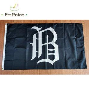 MILB Birmingham Barons Flagge 3 * 5ft (90 cm * 150 cm) Polyester Banner Dekoration Fliegen Home Garten Festliche Geschenke