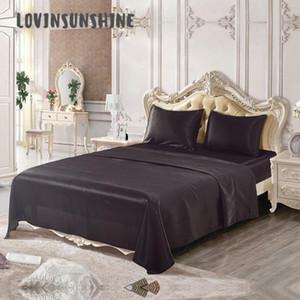 LOVINSUNSHINE Silk Bed lenzuola Copripiumino re Bedding Set di lusso AB # 135