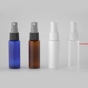 BEAUTY MISSION 20ML 100pcs Transparent White Amber Travel Plastic Perfume Atomizer Small MIni Empty Spray Pump Refillable Bottlegood qualtit