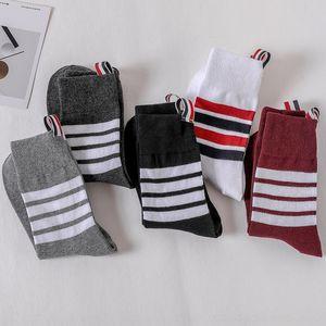 MweX Mens Sock Slipper Casual Color Panelled Designer Socks Mens Breathable Mesh Socks Athletic Outdoor Sweat Absorbent