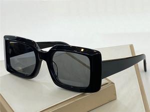 Yeni Moda Tasarım Güneş Gözlüğü 30029 Basit Kare Çerçeve UV400 Lens Avant-Garde Popüler Stil Kılıf ile En Kaliteli