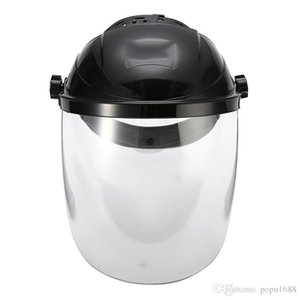 Anti-Şok Maschere Kask Koruyucu Şeffaf Güvenlik Maskesi Kalkanı BJBJ Lens Kaynağı Lehim Göz Anti-Uv Yüz Yüz Yüz Yüzü Anti-Şok M Mask s Maho