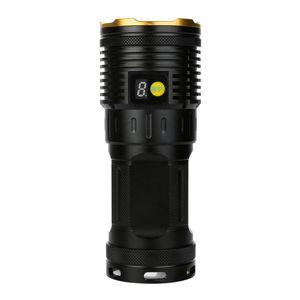 50000LM 15 x XM-L T6 LED Güç Dijital Ekran Avcılık Bisiklet Hligt Sıcak Ağustos18