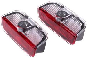 4pcs Car Porta per auto Benvenuto Portatori per VW LED Logo Proiezione Emblem Step Lights per CC Scirocco Golf 5 6 7 Jetta MK5 MK6 MK7 Passat B6 B7