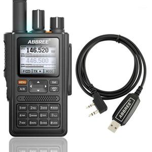 ABBREE AR-F8 GPS 6 Bands Dual Display Dual Standby 999CH Multi-funzionale VOX DTMF SOS LCD Display a colori Walkie Talkie Ham Radio1