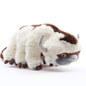 New arrival 100% Cotton Avatar Last Airbender Appa Plush Toys Soft Juguetes Cow Stuffed Toy For Gifts 45CM11