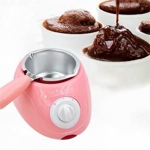 New Chocolate Candy Melting Pot elektrische Schokoladen-Brunnen-Fondue Schokoladen-Melt-Topf Melter Maschine Diy Küche Werkzeug-Geschenk Han