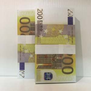 Party Prop Money Counterfeit Faux Bar LE200-09 Euro Atmosphere Stage New Billet 200 Vxihw Ostbq