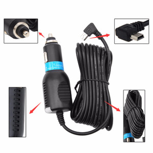 Universal Car Vehicle DC 5V 2A Mini USB Car Power Charger Adapter Cord Mini USB Cable For DVR GPS Navigation With Cable