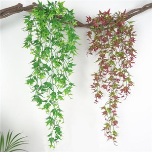1pcs Artificial Ivy Leaf Artificial Plants Green Garland Plants Vine Fake Foliage Home Decoration Wedding Party Decoration