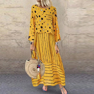 African Dresses For Women 2020 Fashion Summer Sundress Long Maxi Vestidos Floral Print Dress Ladies Long Africa Clothing1