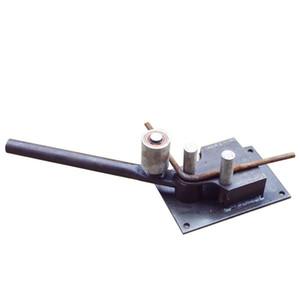 무료 배송 새로운 수동 강화 강철 막대 벤딩 도구 철근 벤더 건설 도구 가벼운 무게가 잘 굽습니다.