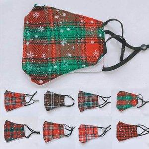 Маска для лица Взрослый Рождественский рождественский пылезащитный дымчатый дышащий модные маски мужчины женщины моющиеся мальчики девушки черные красные лица