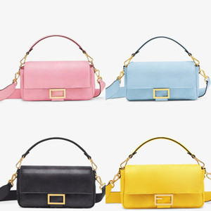 2020 5A Qualidade leathe Genuine sacos de ombro de nylon mulheres carteira Bolsas Bestselling Designer de luxo sacos Crossbody Saco de Hobo bolsas baguete