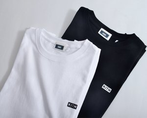 20sS Kith Box T-shirt Männer Frauen Harajuku Japan Japan Casual Tshirt Kith Top Tees Kith Summer Flock Classic Fashion T-Shirts X1214