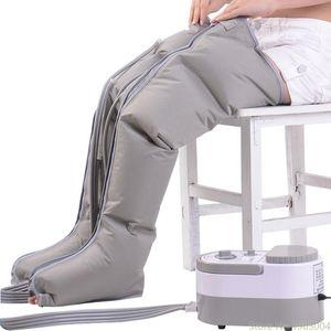 Pneumática Leg Massager Kneading Pé Leg Massagem Instrumento elétrica Air onda de pressão Fisioterapia Massagem