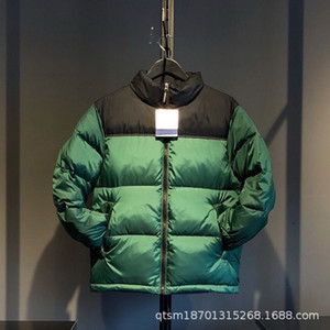 thick winter down jacket collar men down jacket wholesale clothing color matching bread couples a undertakes to TF 201022