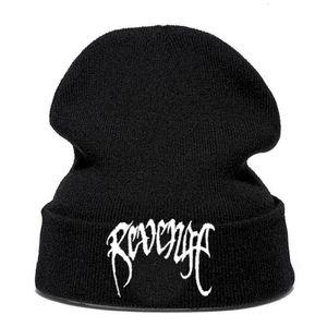 Banda Xxxtenta Revenge malha dos homens de lã e de Mulheres pulôver Inverno Cap Hat Fria RE5N