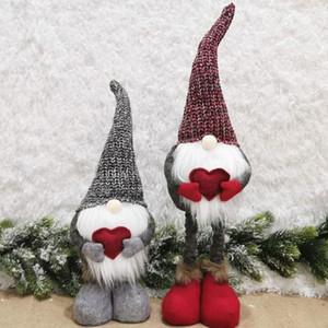 2021 Presentes de Ano Novo Gnome Handmade Natal Figurines decoração do feriado Faceless alta qualidade Natal da boneca bonito Xmas