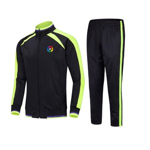 20-21 The Spanish Team Football Club Top Soccer sports Kids football tracksuits Running suit outdoor training sets Men's Sportwear