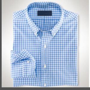 2021 Осень зимний мужской дизайнерский дизайнер Oxford платье рубашка мужская с длинным рукавом повседневная крокодил социальные рубашки мода США бренд RL поло рубашки