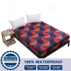 Waterproof Mattress Protector Cover For Twin Full Queen King Bed Fitted Sheet Wetting Breathable Hypoallergenic Protection Pad Cover