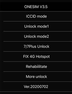 Kostenloser DHL New OneStim / GNSIM / GPLTE Unlock SIM-Karte für iOS 14.x US / T-Mobile, Sprint, Fido, Docomo Andere Carrieres Turbo Sim Gevey