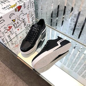 2021x Autumn High -End Custom Fashion Leather Men &#039 ;S Comfortable Casual Shoes ,Fashion Wild Trend Low -Top Sneakers ,Original Box OXh
