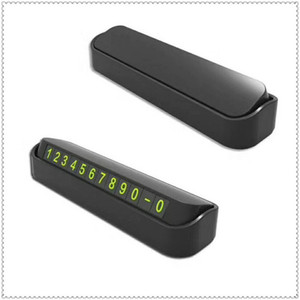 Car accessories mobile phone number card styling for GMC Mahindra Hino Lincoln Cadillac Acura Tata Motors