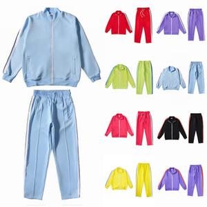 Yeni 2021 Mens Bayan Eşofmanlar Tişörtü Erkekler Erkekler Track Ter Suit Mont Adam Tasarımcılar Ceketler Hoodies Pantolon 21ss Tişörtü Spor