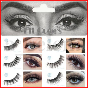 Fit Colors 6D Mink Eyelashes Natural False Eyelashes Lashes Soft Fake Eyelashes Extension Makeup Cruelty Free Mink Lashes 6D Series