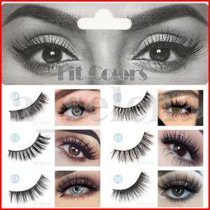 Fit Couleurs 6D Vison Cils naturel faux cils Lashes doux Faux Cils Maquillage Extension Cruelty Free Mink Lashes Série 6D
