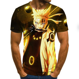2020 newest fashion Naruto shirt Men Women 3D t-shirt naruto cosplay Sweatshirts naruto action figure tee shirts Men Tops