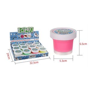 Duckey Bubble Anti-bactérien extensible moelleux personnalisation Slime forme d'oeuf non toxique 12 couleurs pour les enfants