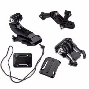 Action Camera Accessories Set For GoPro Hero 5 3 4 Xiaomi Yi 4K SJCAM SJ4000 Chest Strap Base Mount Go Pro Helmet Kits