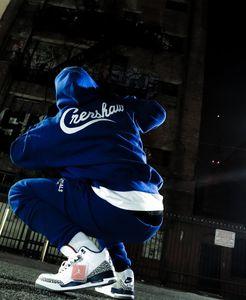 Of & God Bottom Essentials X Pants Crenshaw LA Limited Hoody Hoodie Sweatpants Casual Top Fear & Fleeced TMC FOG Hip Hop Streetwear Roipa