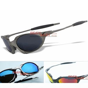 Top Brand Romeo Sunglasses Polarized X Metal Sport Aluminum Iridium Ruby Red Blue Men Women Riding Driving Cycling Color Mirror High Quality