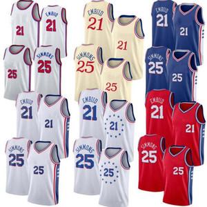 MenPhiladelphia76ers Joel Embiid Ben Simmons jerseys ;The swing man sewed and embroidered basketball jerseys.