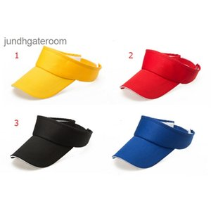Sports Sun Cap 6 Tennis design Golf Headband Cotton snapback caps Adjustable teams Visor Hat