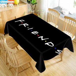 Table Cloth Arrival Custom Friends TV Show Waterproof Oxford Fabric Rectangular Tablecloth Home Party
