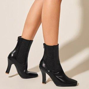 Gigifox 2021 Top Quality Brand Tacchi alti scarpe da donna elegante ufficio signore stivali femminili