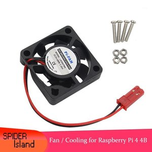 Raspberry Pi 4 Model B CPU Cooling Fan 5V Brushless Fan Cooling for Raspberry Pi 4 with Screw1