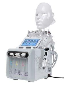 2020 New 8 in 1 H2O2 Hydrafacial Dermabrasion Hydro Water Microdermabrasion Aqua Peeling RF Skin Scrubber Oxygen Spray beauty machine