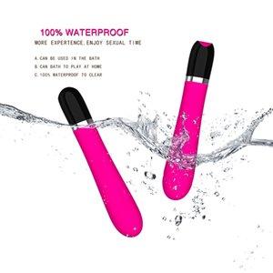 AV Masturbación Sexo femenino Vibración Clítoris automática para vibrador Vibrador Stick Dildo Mujeres Erotic Toys Adulto Vagin Toy Vepao